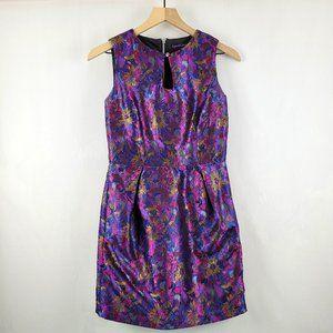 Modcloth Sugarhill Boutique Brocade Dress